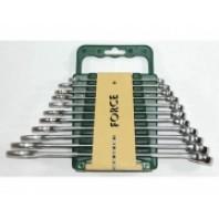 Набор ключей комбинированных 11 пр. (8, 10-15, 17, 19, 21, 22 мм)  FORCE 5115