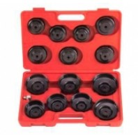 Набор съемников масляного фильтра (крышки) 15 пр.  FORCE 61915
