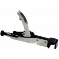 Зажим с фиксатором для кузовных работ (плоские губки для листов металла)  FORCE 67905