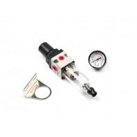 Регулятор давления с манометром и фильтром, для PC-40 (WA-2468) (SOLARIS)