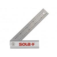 Угольник складной 250х170мм алюм. рукоятка QUATTRO (SOLA) (56017001)
