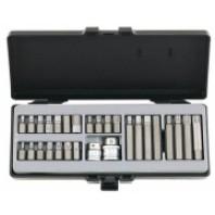 10мм набор бит с битодержателями 28пр. (6-гранные, торкс, 12-лучевые)  FORCE 4283