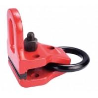 Зажим д/кузовных работ, красный, захват S=100мм, нагрузка на цельнолитую, L-обр.петлю 3т, на рем-кольцо 6т.(шт.)  FORCE 9M1605